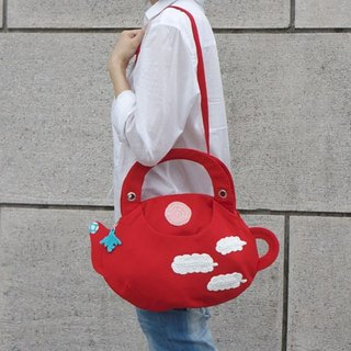 ARTEA [to a pot of sunny teapot bag] can be portable and side double bag (3 colors optional)