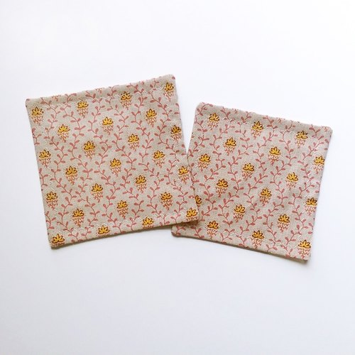 Handmade limited edition Japanese pattern square coasters group (a group 2)