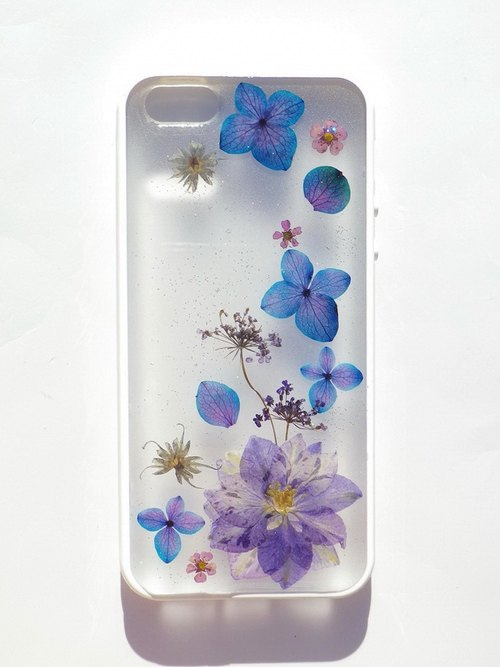 Anny's workshop hand-made Yahua phone protective shell for Apple iphone 5 / 5S, blooming grass plover
