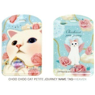 JETOY, sweet cat travel tag _Heaven (J1512107)