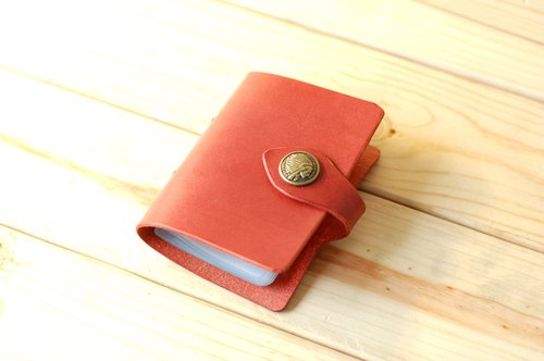[DOZI leather hand-made] decorative buckle card sets this - cross-debit, credit card present, card package, card admission package, credit card holder, name card, like an old photo shows primary treatment