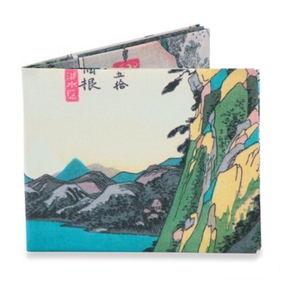Mighty Wallet® paper wallet _Hiroshige