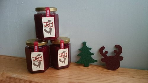 House Christmas colorful jam sauce