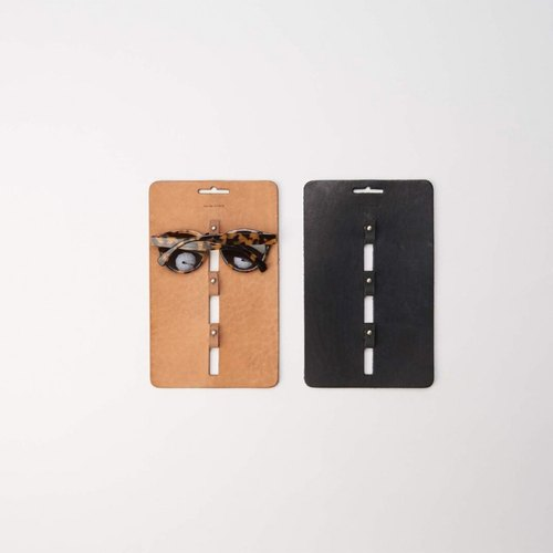 Glasses handmade leather folder -3P | Hender Scheme