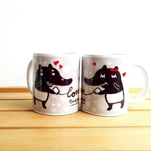 1212 play Design Mug - love Private Message Cup duo