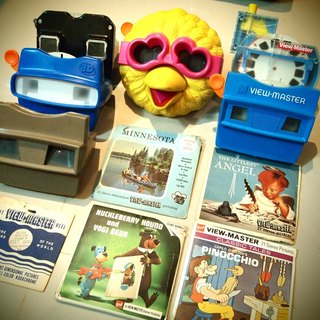 Bird Sister 3D viewmaster + free slide Combo Pack