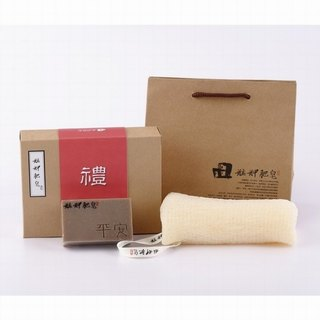 [Monga soap] carry safe gift box - safe soap + clean bath gloves - gifts / gifts / gifts / hand soap gift box / year gift box