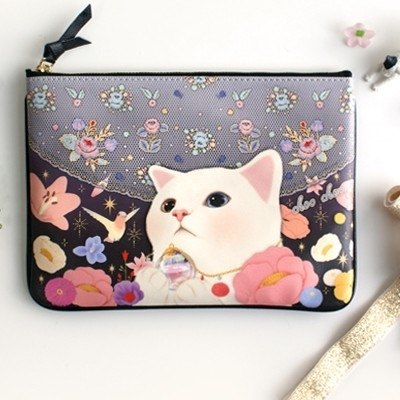 Jetoy, Choo Choo sweet cat cute evening bags _Heaven (J1404301)