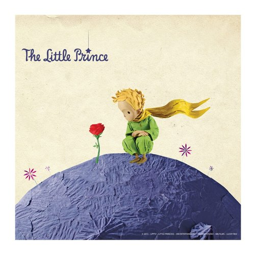 Little Prince Movie Version authorized - frameless picture: [Guardian] 80 * 80cm love