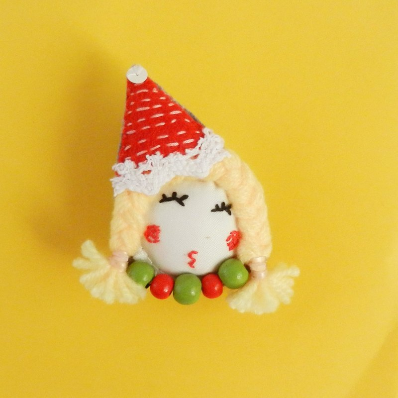 Domiss original Christmas gifts Christmas hat doll brooch brooch series