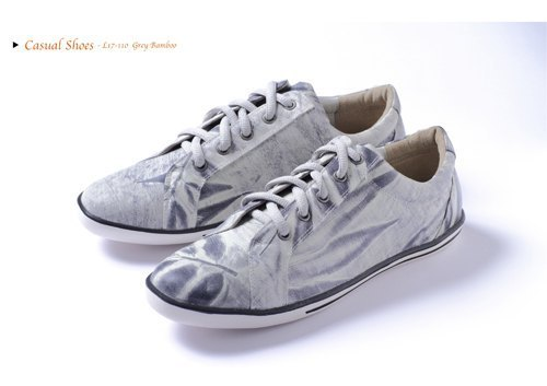 Special bamboo gray canvas shoes (currently available sizes 37 #)