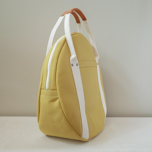 Round tote bag L size of Kurashiki canvas maru tote / MTD40-002