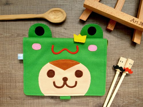 boboSARU Bobo monkey frog manual cloth book slipcase clothing