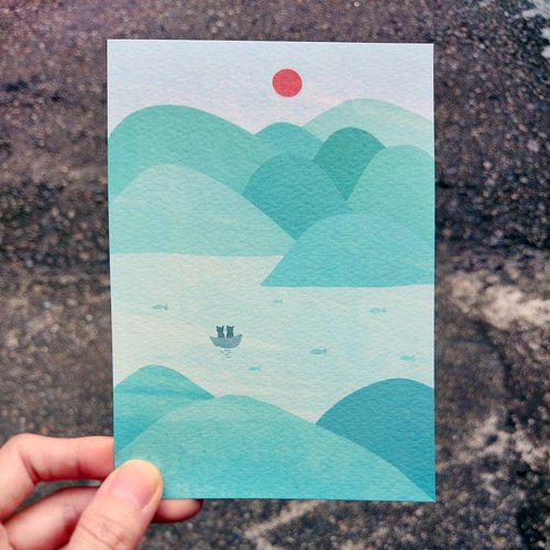 《KerKerland》Always be together / Postcard