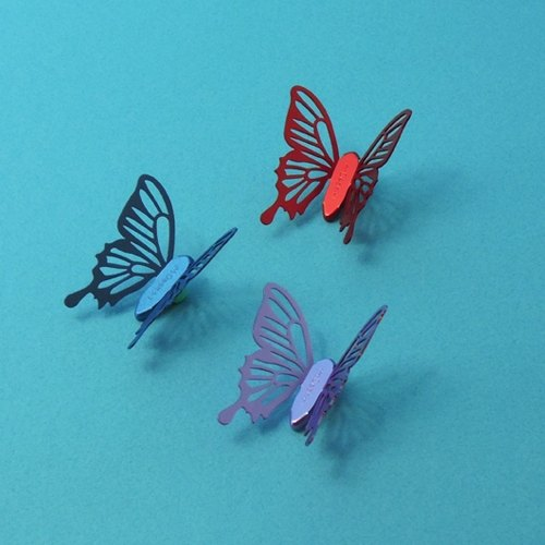 Desk + 1 │ cold crushed butterfly magnet group (3 installed) -C