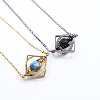 Planet in Universe Necklace(small one)
