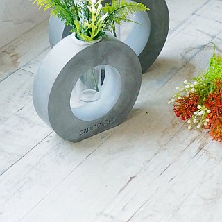 Greenology Ring Cement Test Tube Flower (S)