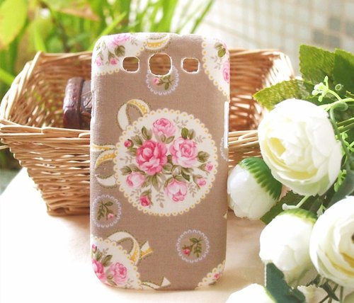 Fabric France rose vine protective cover phone shell HTC One M9 M8 One 2 mini Iphone 6 plus 6 + 5s 5