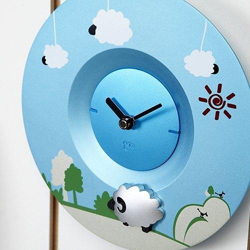 Swap時計系列時尚時鐘 綿羊鐘面