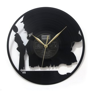 [Time traveler 1888] vinyl clock. Baker Street Movement [Beckor St. Movement]