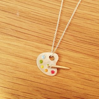 Mini Palette Necklace