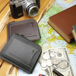 革職人 LEATHER FACTORY【Liberty L-Zip Coin Case / Wallet / Purse】Made in Japan