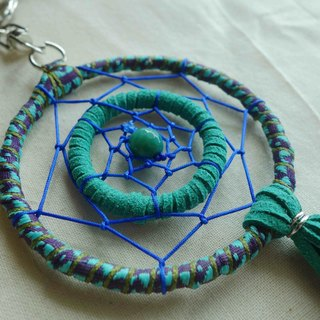 ~ M + Bear ~ Dreamcatcher Dreamcatcher (key ring / Hu Aqua)