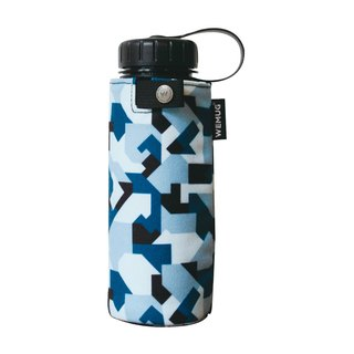 WEMUG Camouflage Jacket Outdoor Water Bottle Camper J500 - Sky Blue