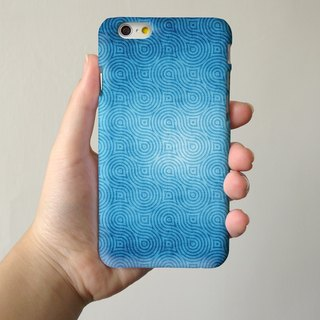 Pattern blue 066 3D Full Wrap Phone Case, available for  iPhone 7, iPhone 7 Plus, iPhone 6s, iPhone 6s Plus, iPhone 5/5s, iPhone 5c, iPhone 4/4s, Samsung Galaxy S7, S7 Edge, S6 Edge Plus, S6, S6 Edge, S5 S4 S3  Samsung Galaxy Note 5, Note 4, Note 3,  Note