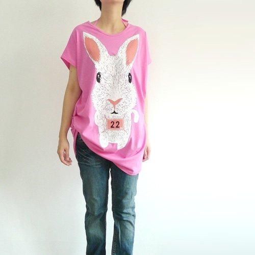 :. Urb [Roadrunner] female rabbit / multi-worn ideas tying x square section