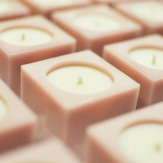 Herb essential oil soy candle
