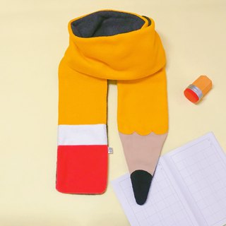 Mr.WEN - Yellow Pencil scarf