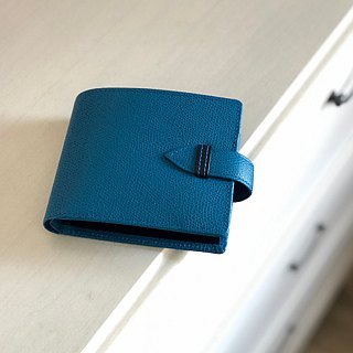 革職人 LEATHER FACTORY【BEAM Coin Packet Wallet / Bifold】Made in Japan