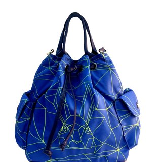 Khieng Atelier Diamond Rabbit Rabbit fluorescent diamond limited edition handbag bucket shoulder
