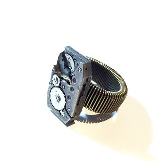 1920 Steampunk steam punk movement Ring Ring