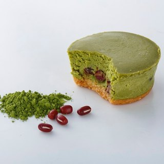 Uji Matcha heavy cheese in a box of 6 into handmade cheese cake (flavor is optional)