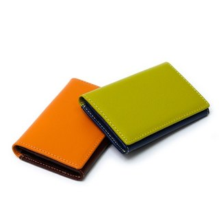 Filter017 - Contacts - Color Leather Card Case spell color leather business card holder