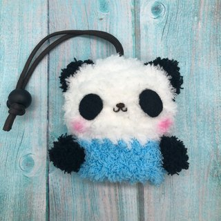 Marshmallow Animal Key Bag - Small Key Bag (Panda)