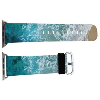 Ocean Beach section Apple Watch Apple Watch leather strap special leather strap with 42mm and 38mm color models (WB10)