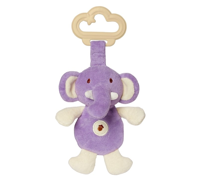 US MyNatural organic cotton dual environmental Gu Chi - Purple Elephant