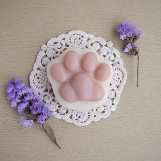 Shea Butter Cat Paw Soap (For Body) - Lilac + Lily