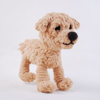 15cm pet cloned [feiwa Fei handmade doll pet doll] Meeks (Welcome to order your dog)