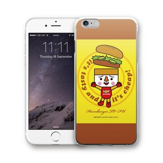 AppleWork iPhone 6 / 6S / 7/8 original design case - tofu burger PSIP-291