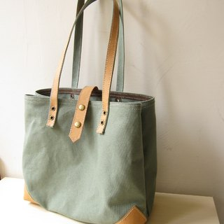 * Green * washed kraft paper retro sail Butuo Te + package