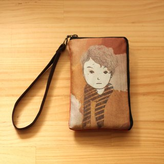 Q Mao Jun Mr. Curly┇ illustration mobile phone bags ┇ l Phone 4/5