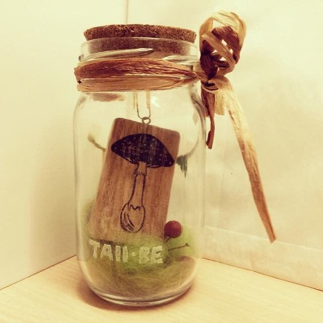 香菇蘑菇森林小瓶子手工印章*橡皮擦印章*手工刻章*手工刻章