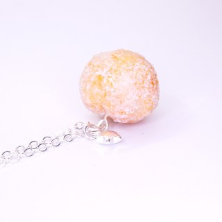 *Playful Design*  Deep Fried Buns of Dough Necklace