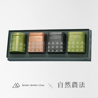 [Mountains came to tea] Natural Farming Law Tea Gift Box Mountain Classic (Large) 4 Into