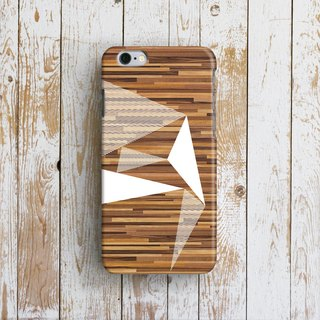 Wooden Geometric- Designer iPhone Case. Pattern iPhone Case. One Little Forest
