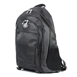 AM light travel backpack (full black)